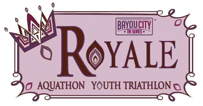 Bayou City Triathlon Series Logo Aquathon Royale and Triathlon